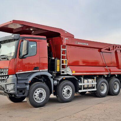 truck tipper w1mv
